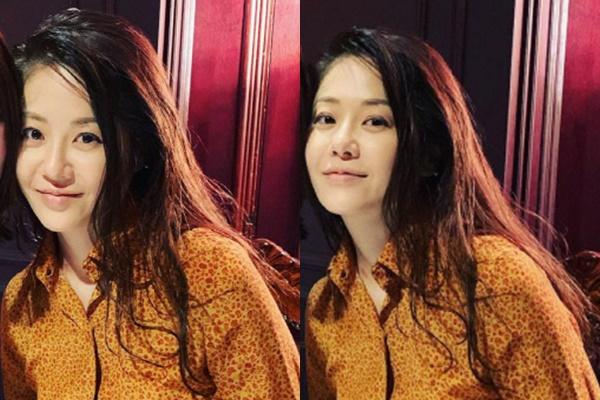배우 고현정의 근황이 공개돼 화제를 모으고 있다. /사진=W코리아 이혜주 편집장 인스타그램