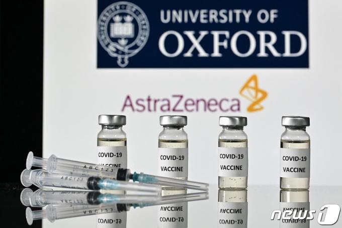 영국 옥스퍼드대학과 아스트라제네카의 코로나19 백신 후보물질 이미지. © AFP=뉴스1