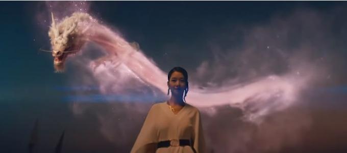 위메이드가 모바일 MMORPG '미르4' 정식 출시를 앞두고 신규 광고 영상 '모광쌍용'을 공개했다. /사진=위메이드 제공