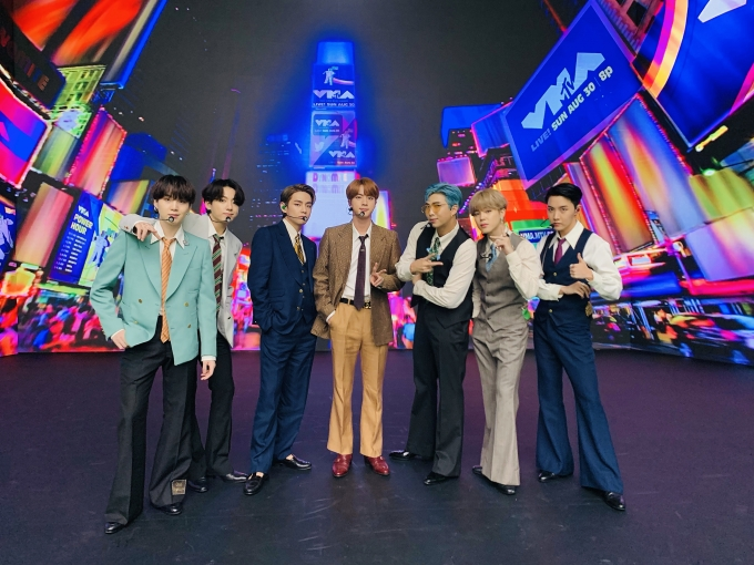 그룹 방탄소년단이 한국 가수 최초로 미국 음악 시상식 그래미 어워즈(GRAMMY AWARDS) 수상 후보로 이름을 올렸다. /사진=빅히트엔터테인먼트 제공