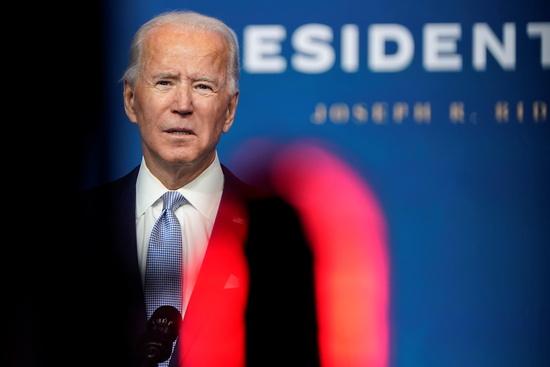 조 바이든 미국 대통령 당선인의 인수위원회 홈페이지 도메인이 정부기관을 뜻하는 '.gov'로 변경됐다. /사진=로이터