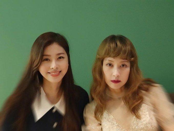 방송인 서정희와 딸 서동주의 사진이 공개됐다. /사진=서동주 인스타그램