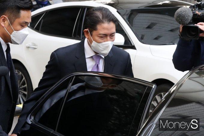 [머니S포토] '횡령·배임' 조현준 회장, 1심 뒤집고 항소심서 집행유예