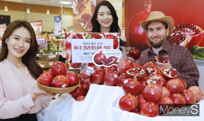 [머니S포토] 과일의 붉은 보석 '캘리포니아 석류'먹고 면역력 키워요
