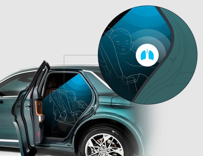 생체 인식 기술로 편의·안전성 높인 지능형 자동차 나온다./사진=제네시스
