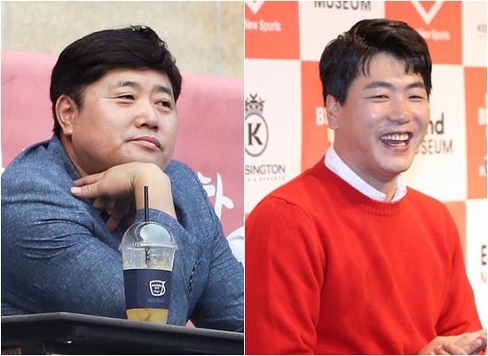 프로야구 해설위원 양준혁(왼쪽)이 후배 김광현의 공을 칭찬했다. /사진=뉴스1