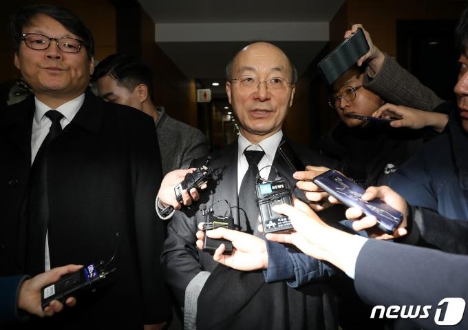 김조원 전 청와대 민정수석. 2019.12.3/뉴스1 © News1 이동해 기자