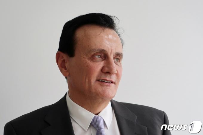 파스칼 소리오 아스트라제네카 최고경영자(CEO) © 로이터=뉴스1