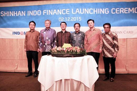 신한카드는 지난 2015년 인도네시아 자카르타에서 '신한인도파이낸스' 출범식을 열었다./사진=신한카드