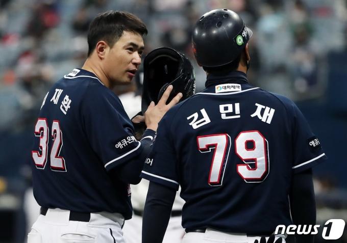 SK 와이번스 수석코치로 선임된 김민재 코치. 2020.11.10/뉴스1 © News1 이동해 기자
