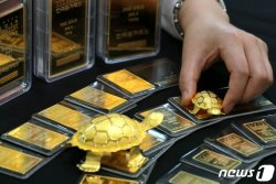 국제 금값 급락… 1800달러선 붕괴