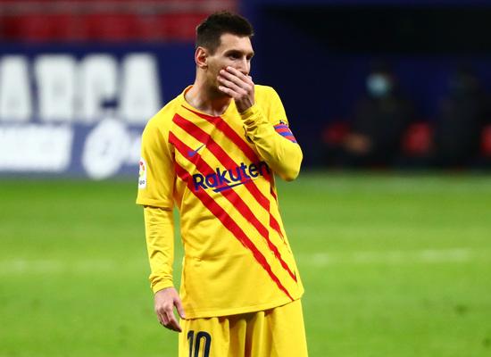 FC바르셀로나의 리오넬 메시./사진=로이터