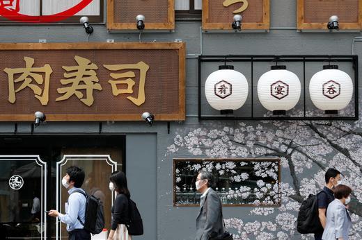 일본에서 코로나19 중증환자가 400명을 넘어섰다./사진=로이터