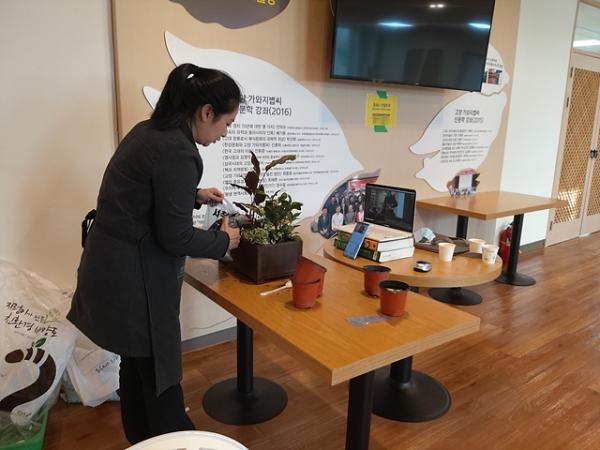 '2020 반려식물 그린인테리어 가드닝교육' / 사진제공=고양시