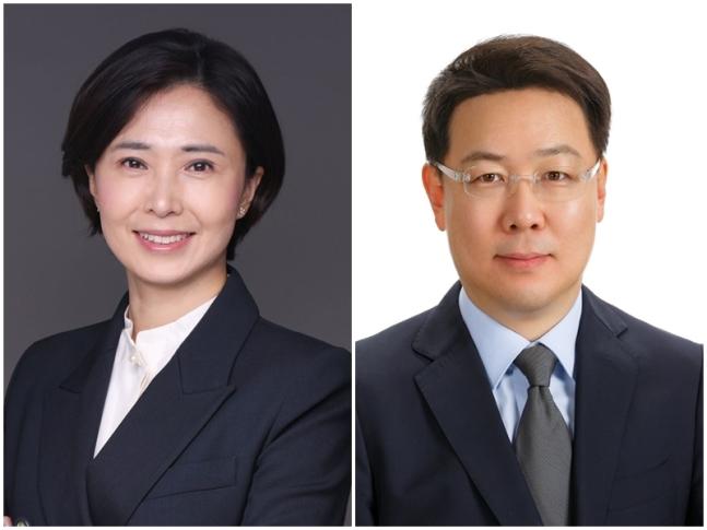 신한은행 김혜주 상무(왼쪽), 김준환 상무/사진제공=신한은행