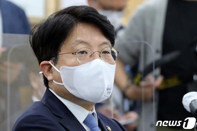 고기영 법무부 차관이 1일 사의를 표명했다.  /사진=뉴스1