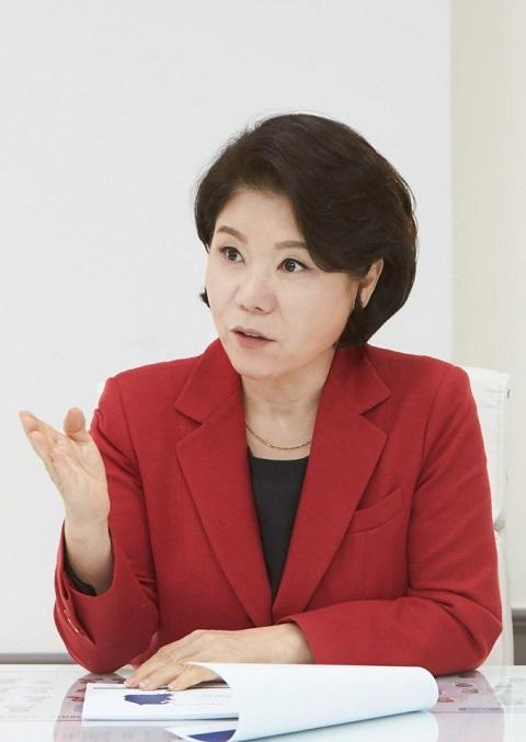조은희 서초구청장이 내년 예정된 서울시장 보궐선거 출마 의사를 공식화했다. /사진=서초구청