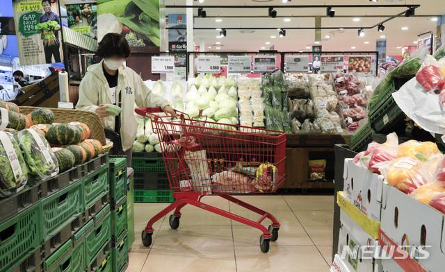2일 통계청이 발표한 11월 소비자물가 동향에 따르면 지난달 소비자물가 지수는 105.50(2015년=100)으로 전년동월대비 0.6% 올랐다. /사진=뉴시스