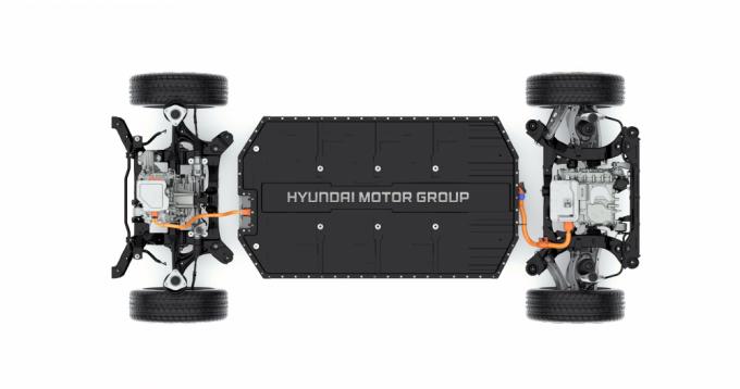 E-GMP는 모듈화 및 표준화된 통합 플랫폼이다. /사진제공=현대자동차그룹