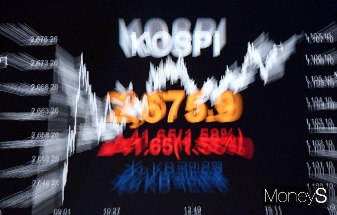 [머니S포토] 코스피, 이틀 연속 사상 최고치 행진