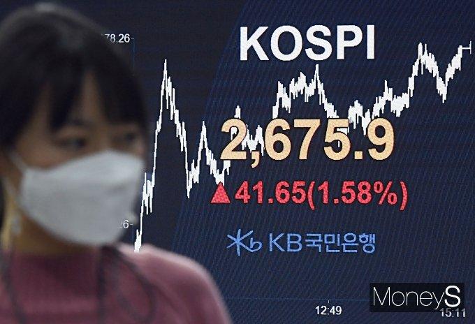 [머니S포토] '상승 마감한 코스피'