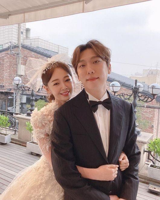 발레리노 윤전일과 배우 김보미가 부모가 됐다. /사진=김보미 인스타그램
