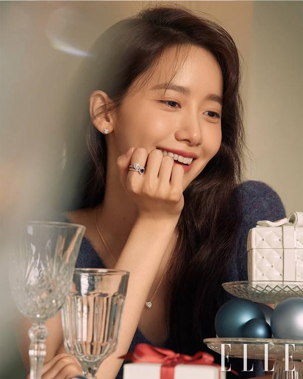 배우 임윤아가 화보를 통해 우아한 아름다움을 과시했다. /사진=엘르