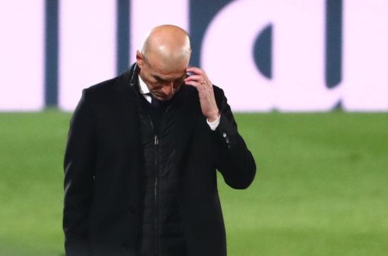 지네딘 지단 레알 마드리드 감독의 입지가 다시금 불안정해지고 있다. /사진=로이터