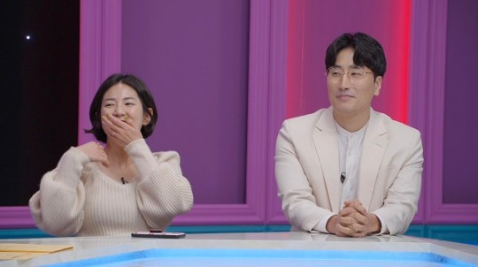 개그맨 황영진이 아내 김다솜에게 하루에 20통 전화하는 이유가 밝혀졌다. /사진=언니한텐말해도돼 제공