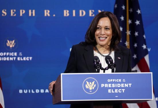 카멀라 해리스 미국 부통령 당선인의 비서실장으로 흑인 여성 티나 플러노이가 지명됐다. /사진=로이터