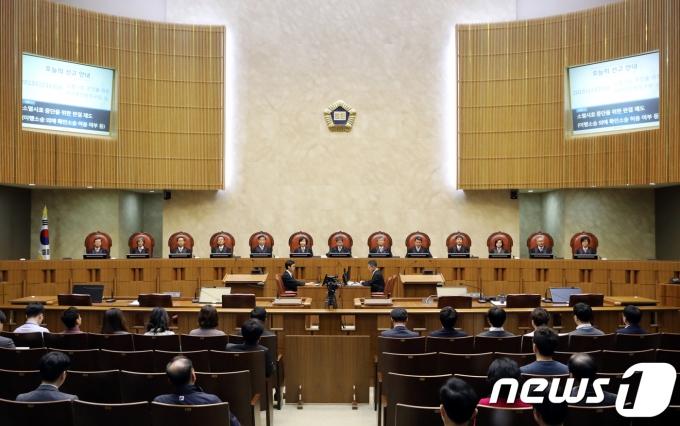 전국 판사들이 대검을 향해 날선 비판을 쏟아내고 있다. 사진은 대법원. /사진=뉴스1
