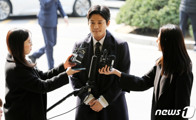 '버닝썬 폭행' 신고자 김상교씨. 2019.3.19/뉴스1 © News1 오장환 기자