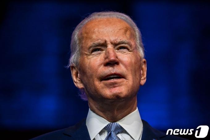 조 바이든 미국 대통령 당선인. © AFP=뉴스1
