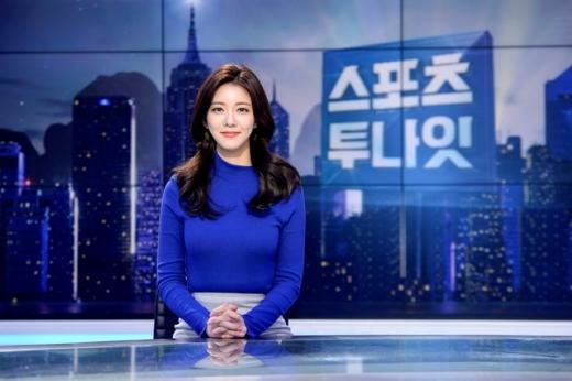 김민형 전 SBS 아나운서(27)가 5일 김대헌 호반건설 대표(32)와 결혼했다. /사진=SBS 제공