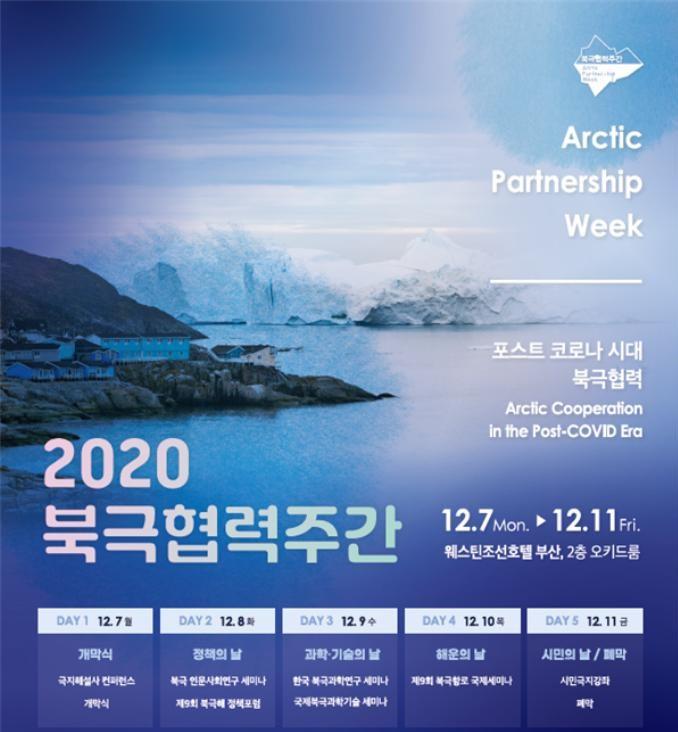 부산시가 오는 7일부터 11일까지 진행되는 '2020 북극협력주간'을 맞아 '부산 시민극지강좌'를 온라인으로 개최한다./사진=부산시