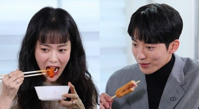 배우 한지민이 '먹방'을 선보인 떡볶이집에 관심이 모아진다. /사진=MBC 제공