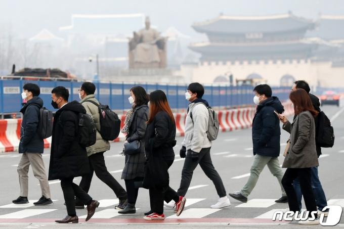 전국 대부분 지역에서 아침 기온이 –10~2도, 낮 기온은 5~13도 정도로 전망된다. /사진=뉴스1