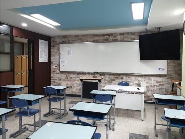 교과교실 내부. / 사진제공=구리남양주교육지원청