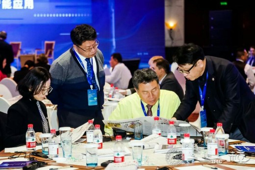 중국 항저우에서 세계지방정부연합 아시아태평양지부 위원회가 주최한 제1회 총회 및 인공지능 세미나 장면. / 사진제공=구리시