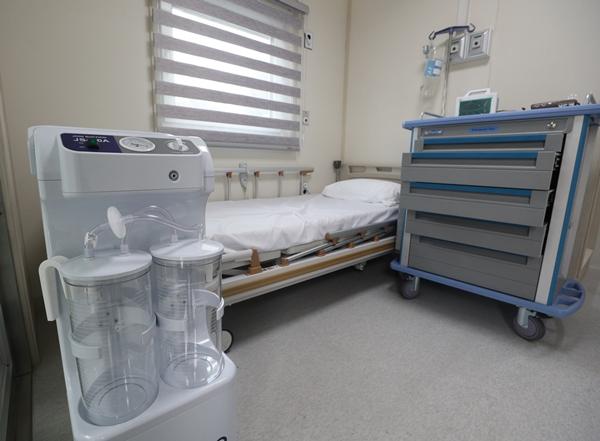 서울 은평구 서북병원에 이동형 음압 병실이 마련돼 있다. /사진=뉴스1