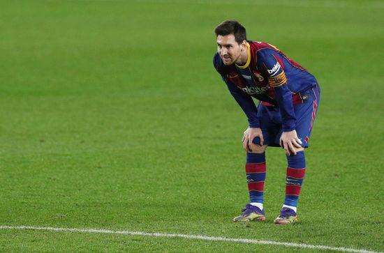 FC바르셀로나 회장 후보가 내년에 리오넬 메시(사진)를 지키기란 쉽지 않을 것이라고 우려를 표했다. /사진=로이터