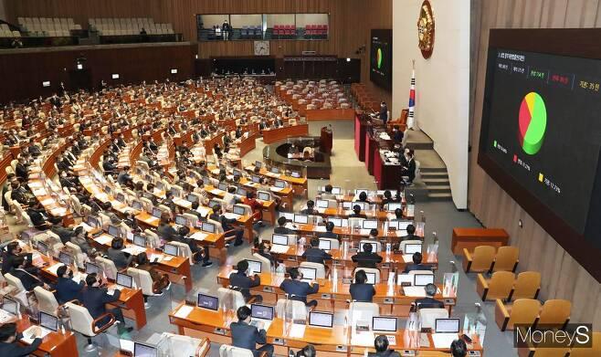 국회 법제사법위원회가 5일 중대재해법 처리 등을 논의한다. /사진=임한별 기자