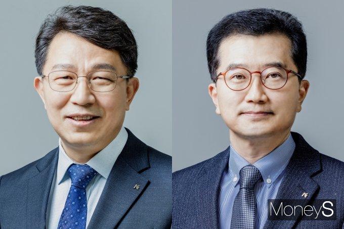 유연갑 준법감시인, 안종혁 혁신성장금융본부장/사진=수출입은행