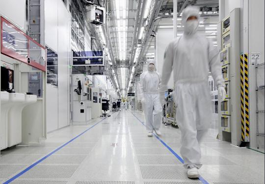 삼성전자 중국 시안 반도체공장. / 사진=삼성전자