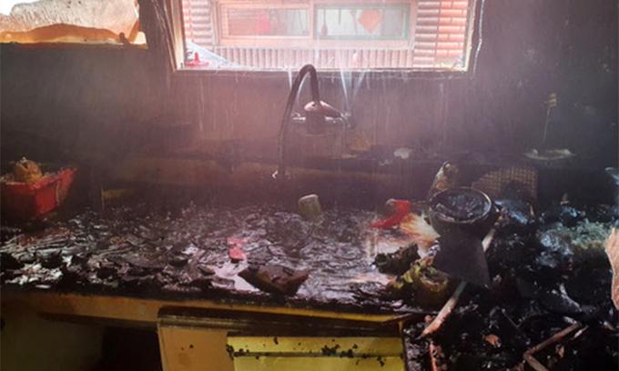 어머니가 집을 비운 사이 발생한 화재로 8살 동생을 잃은 형이 5일 퇴원한다. /사진=인천 미추홀소방서 제공