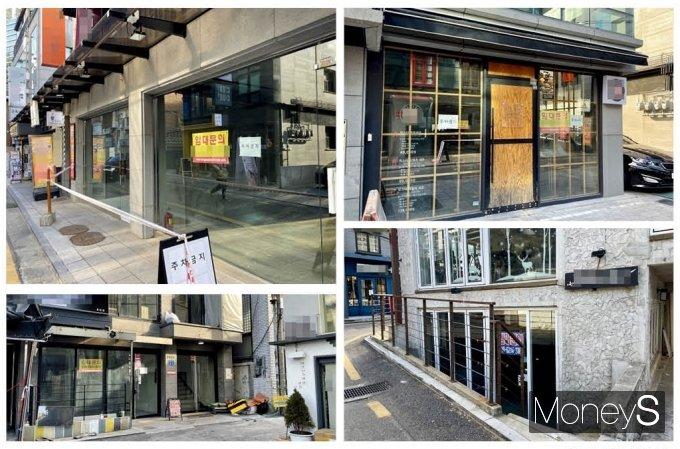 6일 오후 방문한 서울 마포구 상수동 카페거리는 말 그대로 휑한 모습이었다. 커피 등 음료와 디저트를 좋아하는 이들에게 사랑받던 거리는 한산하다 못해 싸늘함이 느껴질 정도였다. /사진=강수지 기자