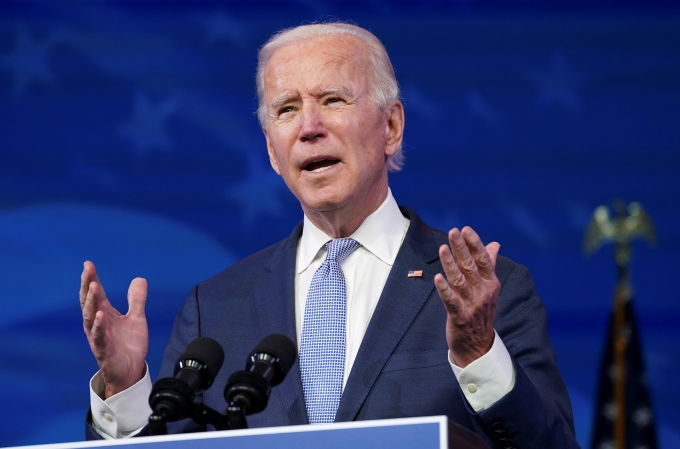 조 바이든 미국 대통령 당선인의 취임이 확정했다./사진=로이터