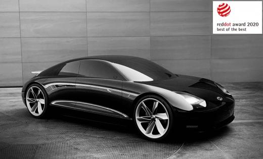현대자동차가 애플의 협력 소식에 큰 관심을 받고 있다. 사진은 현대차의 전기 콘셉트카 '프로페시'로 2020 레드닷 어워드 디자인 콘셉트 분야 모빌리티·수소 부문에서 최우수상을 받았다. /사진=현대차 제공