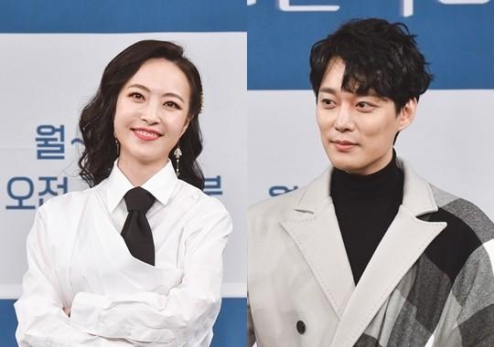 배우 전승빈의 전 부인 홍인영이 SNS에 의미심장한 글을 남긴 가운데 전승빈 측이 입장을 밝혔다. /사진=MBC 제공