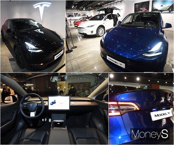 [머니S포토] '테슬라 Model Y' 1분기 출시 예정…가격은 미정